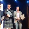 "Kiran gets ""Champion of Industry Award"" at the Taste Awards 2013!"